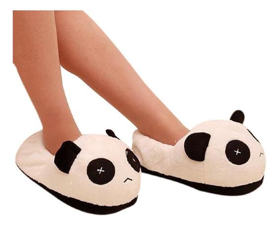 Pantuflas Panda Peluche Cute Kawaii Zapatos Envio Gratis Oso