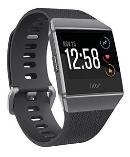 Smartwatch Waterproof Fitbit Ionic Gps Nuevo Original Gris