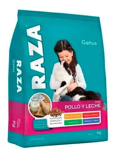 Imagen 1 de 1 de Alimentos Raza Para Gatos Adultos Pollo Y Leche X 10kg