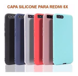 Capa Silicone Xiaomi Redmi 5x / A1 - Várias Cores