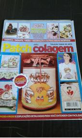 Revista Coleção Toque De Arte Colagem N 10 Moldes