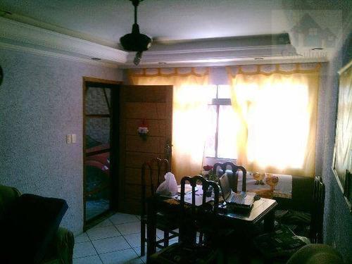 Imagem 1 de 23 de Casa Com 2 Dormitórios À Venda, 108 M² Por R$ 450.000,00 - Areia Branca - Santos/sp - Ca0050