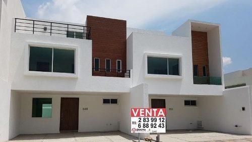 Casa En Venta En Arboreto San Pedro Cholula Puebla