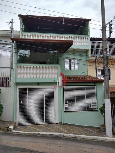Sobrado À Venda, 240 M² Por R$ 390.000,00 - Vila Nova Parada - São Paulo/sp - So0285