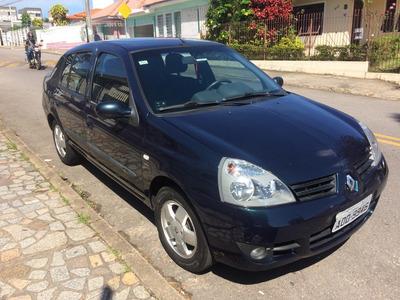 Clio Sedan 1.6 16v Egeus Hi Flex 106.000 Km 2º Dono