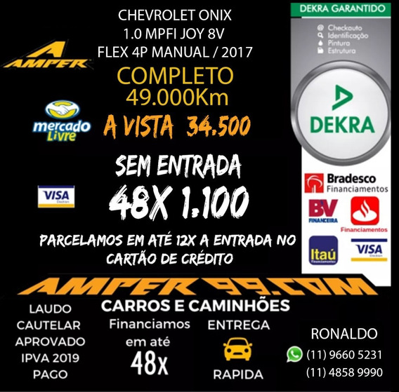 Chevrolet Onix 1.0 Mpfi Joy 8v Flex 4p 2017 B75