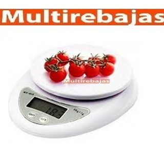 Gramera Balanza Pesa Digital 5kg Mide Gr, Kilo