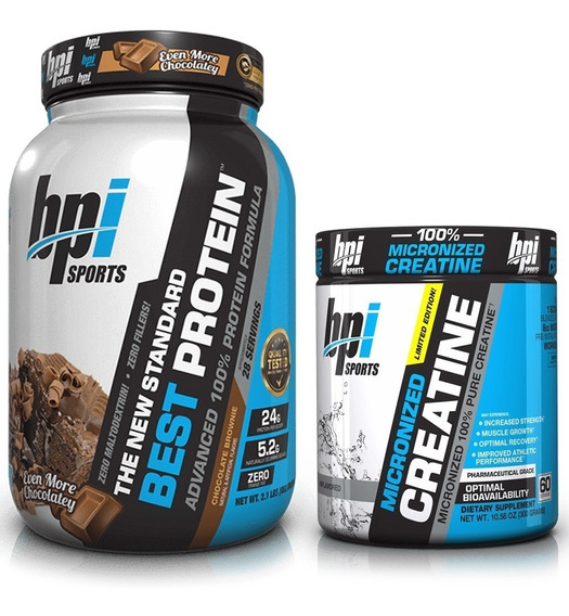 Combo Bpi Sports Creatina Micronizada + Best Protein Isolate