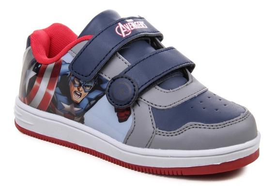 Zapatillas Marvel The Avengers Capitan América Niños Abrojo