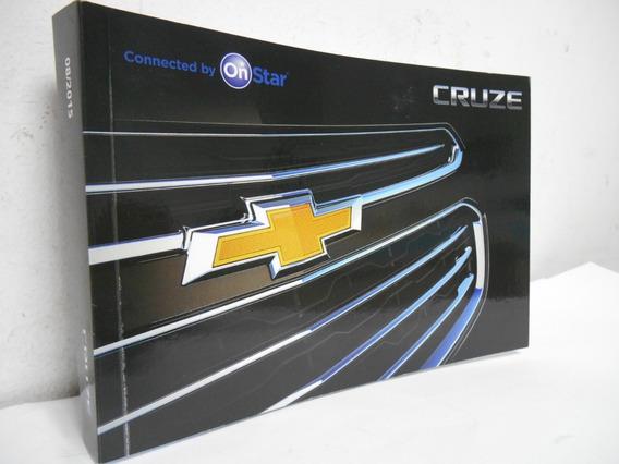 Manual Proprietario Cruze Chevrolet Novo Original Em Branco