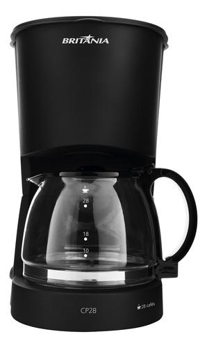 Cafeteira Elétrica Britania Preto 110v - Cp28