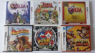Juegos Originales Nintendo 3ds (valor Cada Uno)