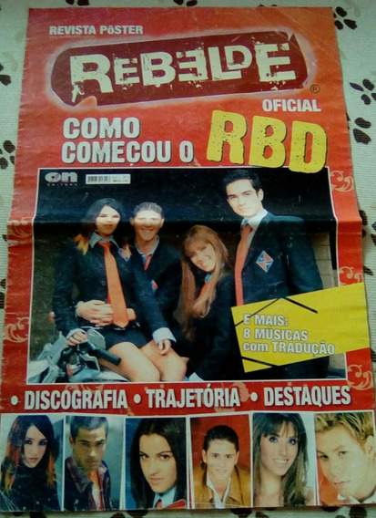 Revista Super Pôster Rbd