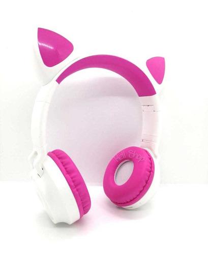 Audífono Orejas Gato Bluetooth, Radio Fm,+accesorio Celular
