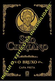 2 Livros São Cipriano O Bruxo Capa Preta + Abramelin, O Mago