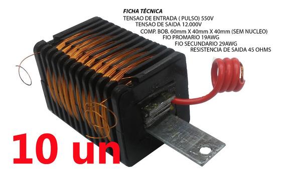 Bobina 10 Peças Para Eletrificador De Cerca Rural 100km²