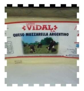 Mozzarella Vidal La Mejor Del Mercado 5kg No Cilindro
