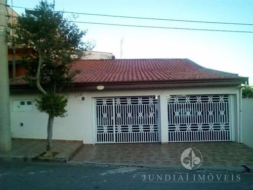 Vendo Casa Com Edícula Na Vila Esperança Em Jundiaí, Três Quartos, Uma Suíte, Cinco Vagas. - Ca00280 - 4918350