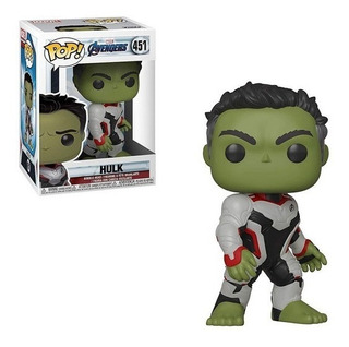 Funko Pop Hulk 451 Figura Avengers Original Educando Full