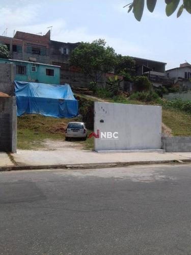 Terreno À Venda, 250 M² Por R$ 170.000,00 - Jardim Ikes - Itaquaquecetuba/sp - Te0284