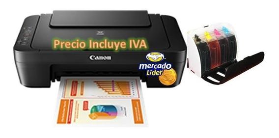 Impresora Canon E402/mg2410/ Mg2510 Con Sistema De Tinta