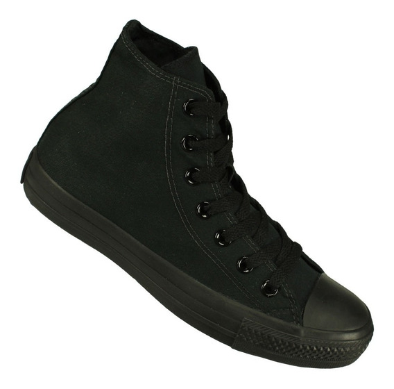 Tênis Converse All Star Ct As Monochrome Hi -nfe Tênis Preto