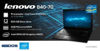 Computadora Lapto Lenovo