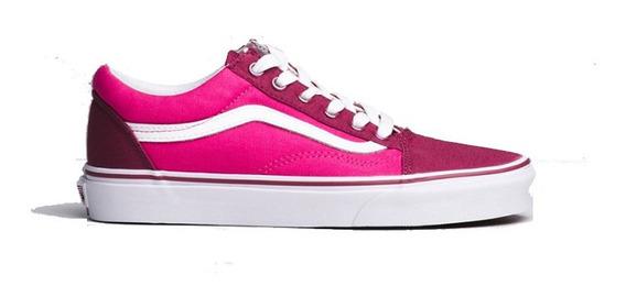 Championes Vans Old Skool Iridiscent Pink - La Isla
