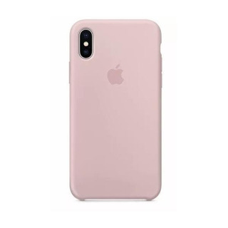 Carcasa Funda De Silicona Para iPhone X Rosa Arena