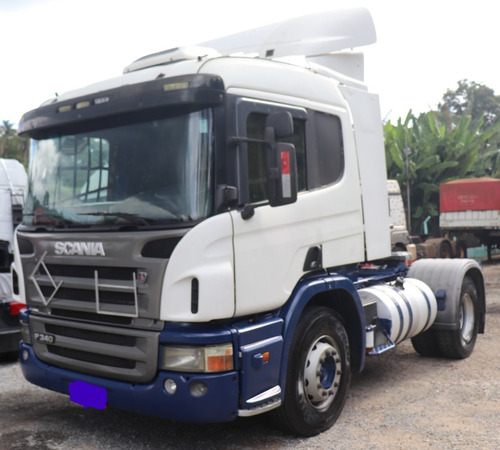 Scania P340 4x2 Ano 2010 Com Bronzina Feita