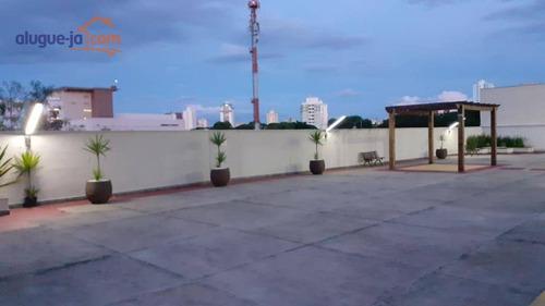 Imagem 1 de 26 de Fitiness. Apartamento Mobiliado.  2 Dormitórios À Venda, 48 M² Por R$ 230.000 - Conjunto Residencial Trinta E Um De Março - São José Dos Campos/sp - Ap8618