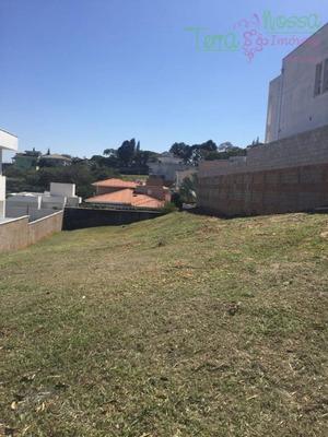 Terreno Residencial À Venda, Condomínio Terras De Vinhedo, Vinhedo. - Te0666