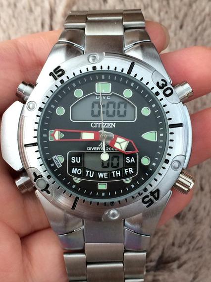 Relógio Masculino Pro Aqua Aço Prova D