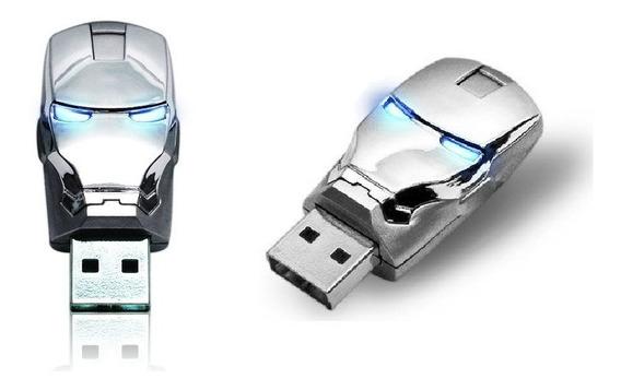 Pen Drive 16gb Iron Man Homem De Ferro Frete R$ 20,00