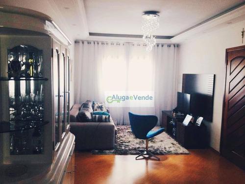 Imagem 1 de 15 de Sobrado Com 3 Dormitórios 1 Suíte, Closet, Espaço Gourmet À Venda, 160 M² Por R$ 680.000 - Picanço - Guarulhos/sp - So0002