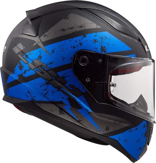 Casco Moto Pista Ls2 353 Rapid Deadbolt Full En Devotobikes