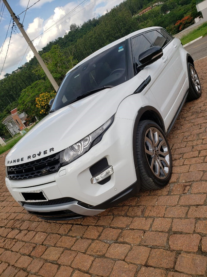 Evoque Dinamic Tech 4wd 16v 2013 (segundo Dono)