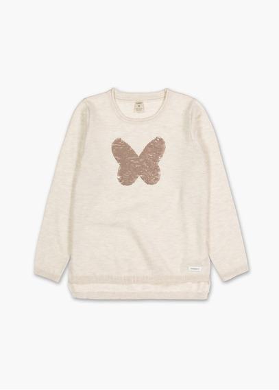 Sweater Buzo Cheeky Niña Lentejuelas Sequins Invierno 2019