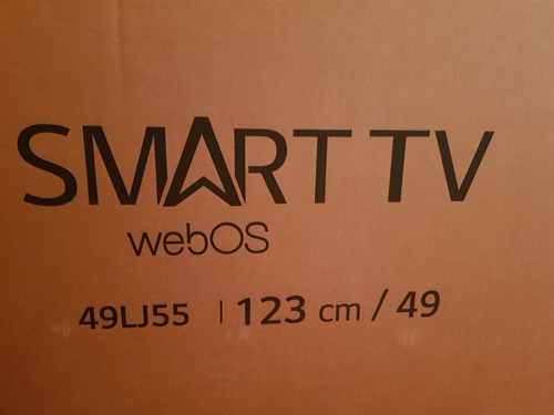 Smart Tv LG 49lj5500 Led Full Hd 49 Vidrio Rajado