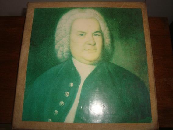 Johann Sebastian Bach, Box Caixa 20 Lp Archiv, Rara Conserva