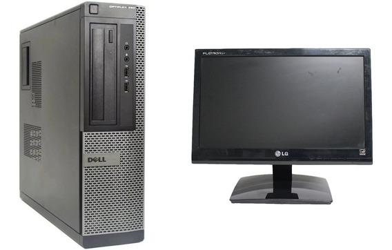 Kit Computador Dell Optiplex 390 I3 4gb Hd500gb C/ Tela 15,6