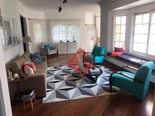 Casa Com 4 Dormitórios, 662 M² - Venda Por R$ 4.000.000,00 Ou Aluguel Por R$ 15.000,00/mês - Alphaville 0 - Santana De Parnaíba/sp - Ca1111