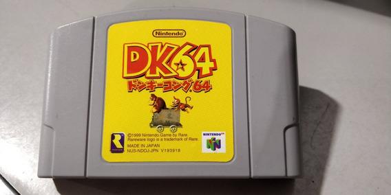 Cartucho Jogo Donkey Kong 64 Japones Nintendo 64