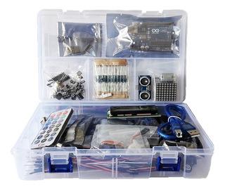 Arduino Uno Kit + Libro De Proyectos En Pdf. 250 Pcs