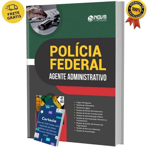 Apostila Agente Administrativo Da Pf - Polícia Federal