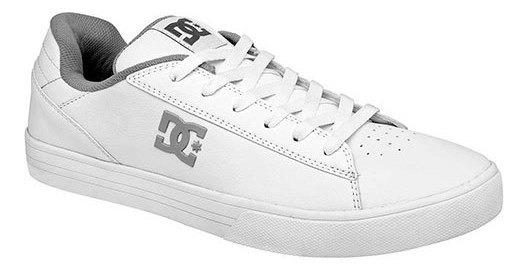 Tenis Hombre Pk 88571 Dc Shoes Blanco