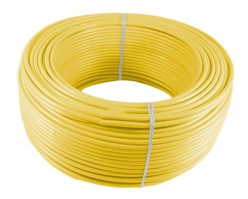 Imagen 1 de 1 de Alambre O Cable Rígido N14' Amarillo X 100 Metros Procables