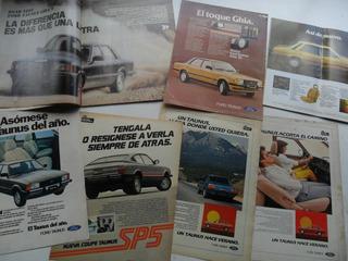 Publicidad Ford Taunus 1982 1981 Revista No Folleto Manual
