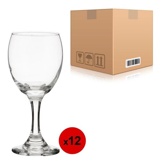 Pack 12 Copas Agua Vino Champagne Cristar Aragon Windsor
