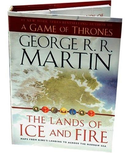 Mapas De Westeros - The Lands Of Ice And Fire Frete Incluso